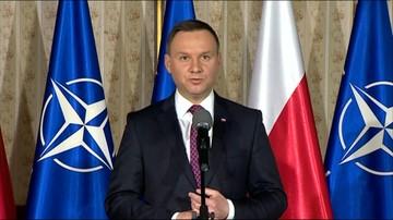 25-04-2016 15:45 Prezydent: Polacy oczekują od wojska gotowości na każdą sytuację