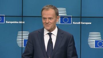 09-03-2017 20:35 Tusk: będę bronił polskiego rządu przed polityczną izolacją w UE