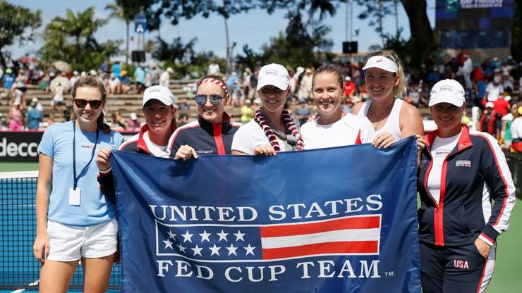 Fed Cup: Amerykanki w półfinale