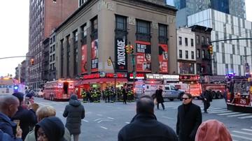 11-12-2017 19:55 Wybuch na dworcu autobusowym na Manhattanie. Nowojorska policja: zatrzymano jedną osobę