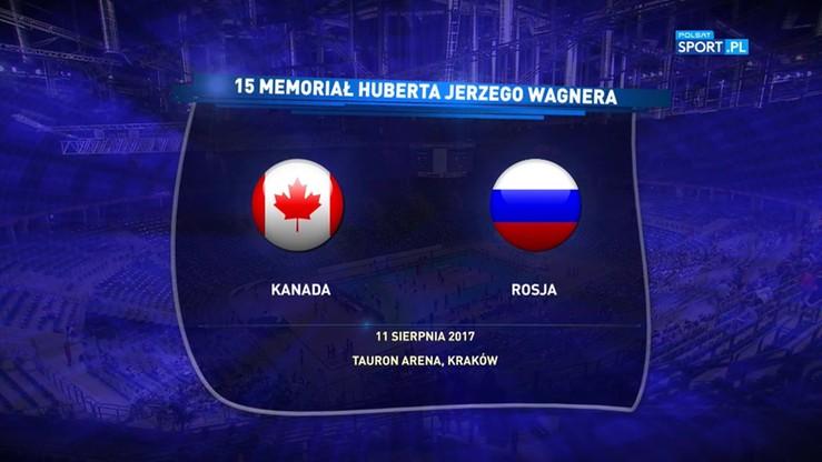 Memoriał Wagnera: Kanada - Rosja 1:3. Skrót meczu