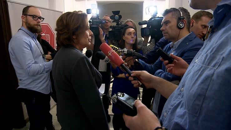 """""""Wiemy, że Schetyna nie wygra głosowania"""". Kidawa-Błońska o wotum nieufności"""