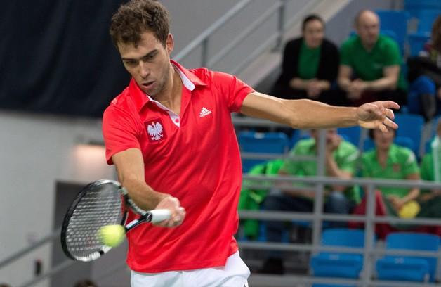 Puchar Davisa - zwycięstwo Janowicza