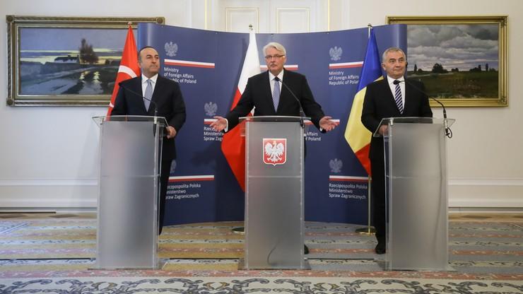Waszczykowski: Polska, Rumunia i Turcja za wzmocnieniem wschodniej flanki NATO