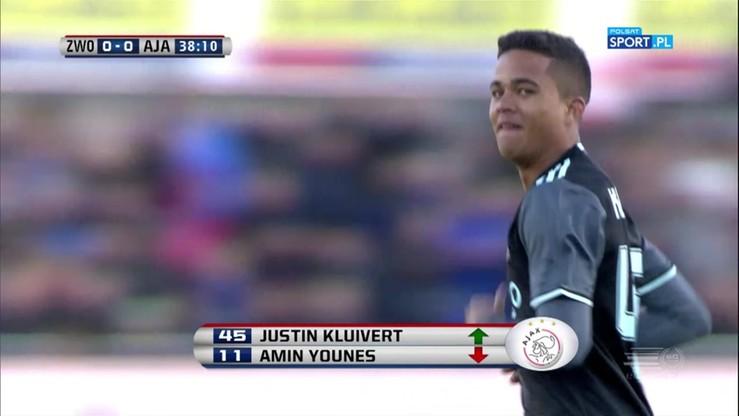17-letni syn Kluiverta zadebiutował w Ajaksie