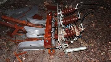 15-12-2017 11:56 Zniszczyli kilka transformatorów energetycznych. Kradli z nich miedziane uzwojenia