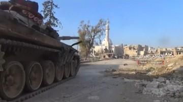 12-12-2016 06:52 Armia syryjska opanowała dużą dzielnicę na południowym wschodzie Aleppo