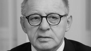 12-07-2017 09:45 Zmarł sędzia Trybunału Konstytucyjnego prof. Lech Morawski