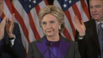 """09-11-2016 18:29 """"To będzie długo bolało"""". Hillary Clinton o swojej porażce"""