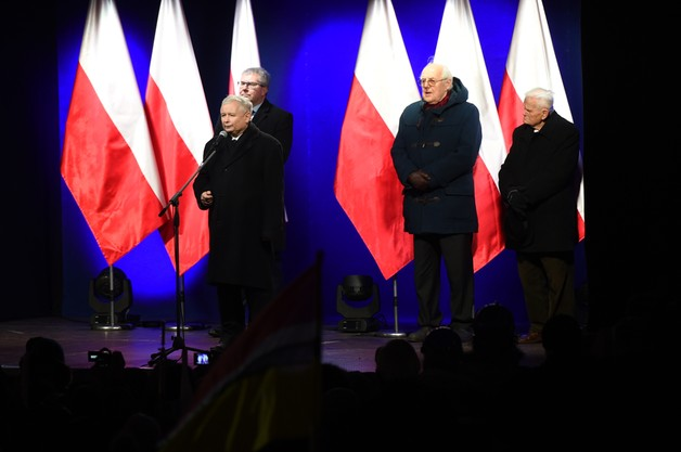 J. Kaczyński o działaniach władzy: to hańba