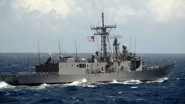09-03-2016 17:01 Amerykańska fregata zatopiona