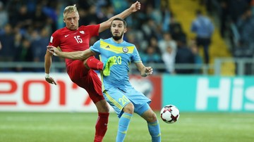 2017-08-17 Polska - Kazachstan: Dwóch byłych graczy Korony w kadrze Kazachów