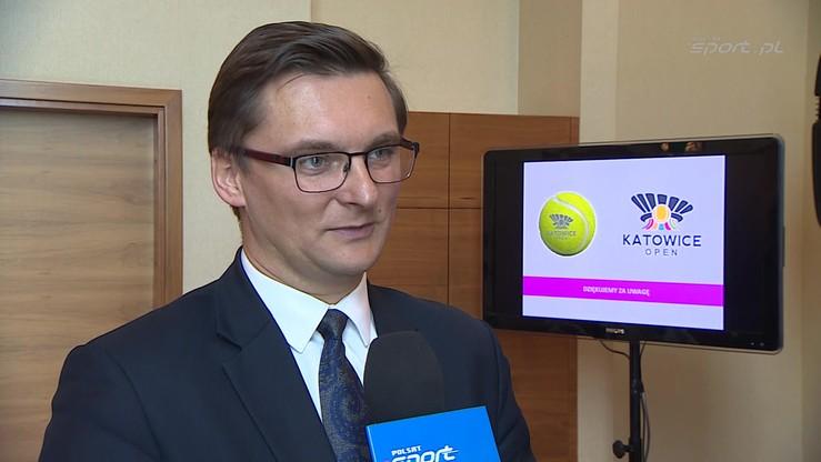 Prezydent Katowic: Odbudujemy tenis w naszym mieście