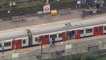 Wybuch w londyńskim metrze. Policja potwierdza: to akt terroru