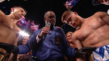 2017-09-17 Canelo - Gołowkin: Wielki boks z podbitym okiem