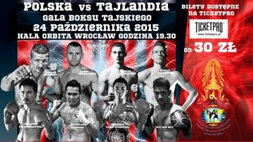 2015-09-17 Gala Martial Arts Contest: Muaythai Polska vs Tajlandia już 24 października