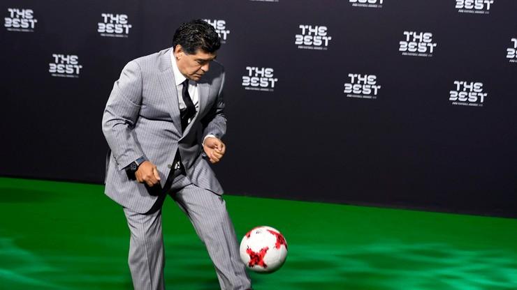 Maradona zostanie honorowym obywatelem Neapolu