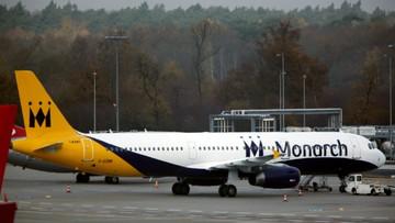 Linie lotnicze Monarch Airlines ogłosiły upadłość