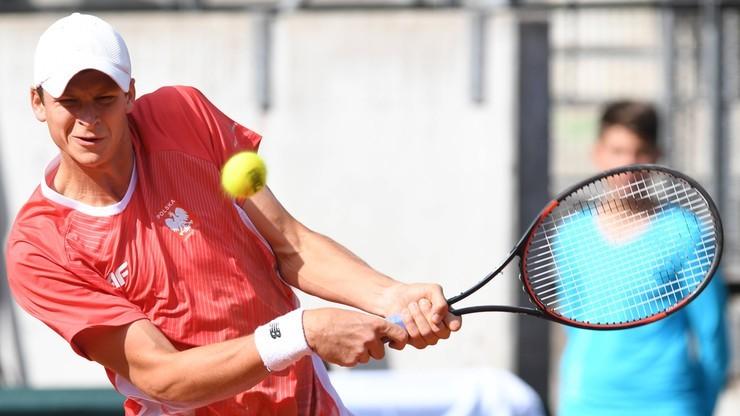 Puchar Davisa: Polacy przegrali ze Słowacją i spadli do Grupy II