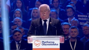 02-10-2016 13:09 Wałęsa do PO: właściwie przegraliście na własne życzenie
