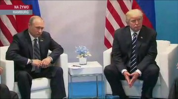 Rozmowa Putin - Trump w Hamburgu