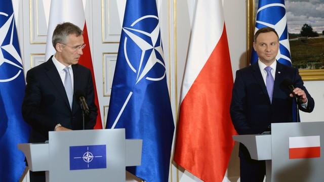 Duda: NATO pokaże jedność