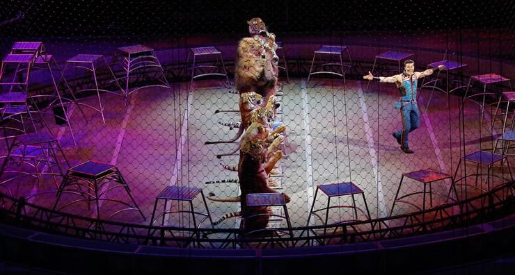 Ostatnie przedstawienie w cyrku Ringling Bros.