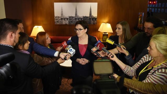 Nie tędy droga - premier o propozycji spotkania prezydenta i szefowej MSW
