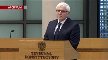 Rezygnacja sędziego Zawistowskiego z funkcji przewodniczącego KRS.