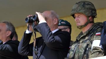 17-06-2016 10:12 Szef MON: NATO nie pozwoli nikomu naruszyć naszych granic