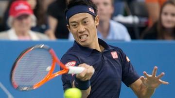 2017-08-14 ATP w Cincinnati: Nishikori nie zagra z powodu z kontuzji nadgarstka