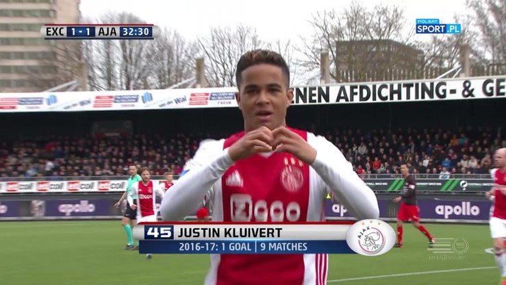 Pierwszy gol Kluiverta juniora w Eredivisie