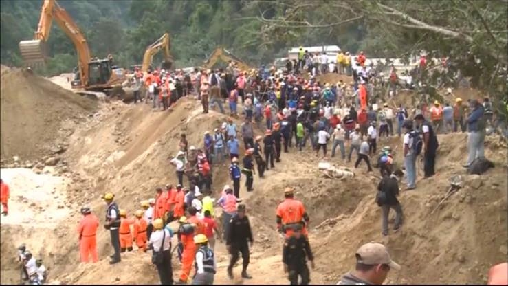 Gwatemala: lawina błota uśmierciła 86 osób
