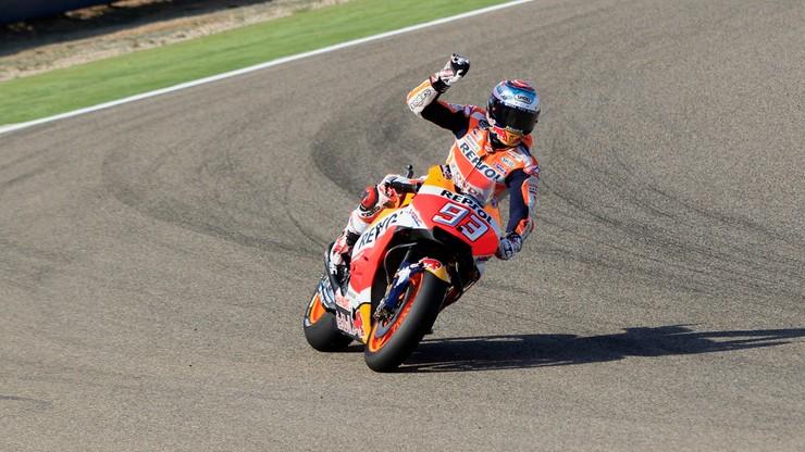 Moto GP w Aragonii: Triumf Marqueza