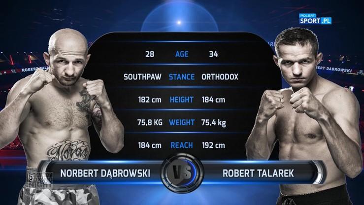 2017-06-24 Norbert Dąbrowski - Robert Talarek. Skrót walki