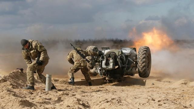 Armia ukraińska: ponad 2,6 tys. żołnierzy zginęło od czasu zajęcia Krymu przez Rosję