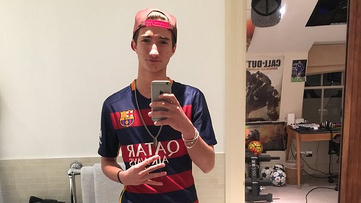 Mourinho Jr w koszulce Barcelony. Co na to ojciec?