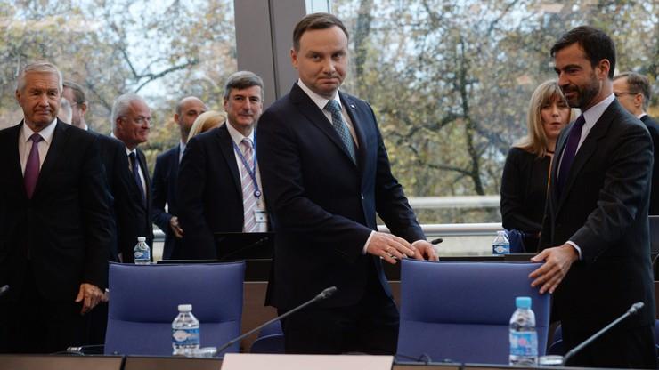 Prezydent Duda: przystąpienie do Rady Europy było dla nas znakiem wolności