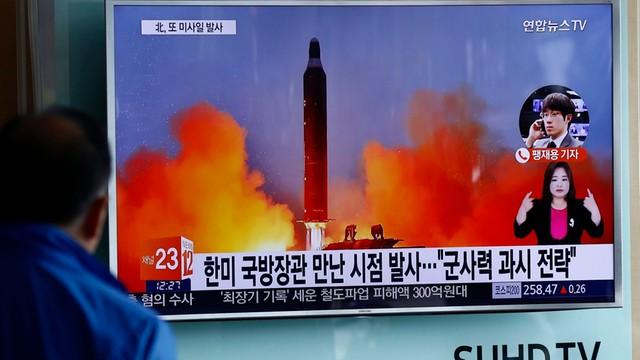 Korea Północna: nieudana próba wystrzelenia pocisku balistycznego