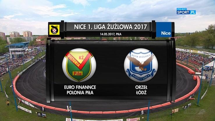 Euro Finannce Polonia Piła - Orzeł Łódź 51:39. Skrót meczu