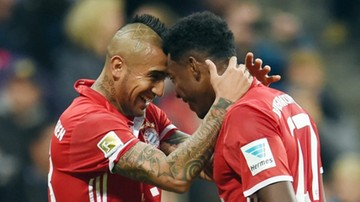 2016-10-22 Bayern Monachium górą w szlagierze 8. kolejki Bundesligi. Lewandowski bez gola