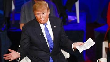 """03-04-2016 07:56 Trump ostro o NATO. """"Przestarzały sojusz bez żalu można rozwiązać"""""""