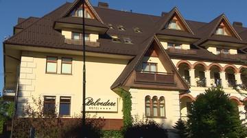 Układ Zakopiański: hotel Belvedere stwarza zagrożenie dla swoich gości