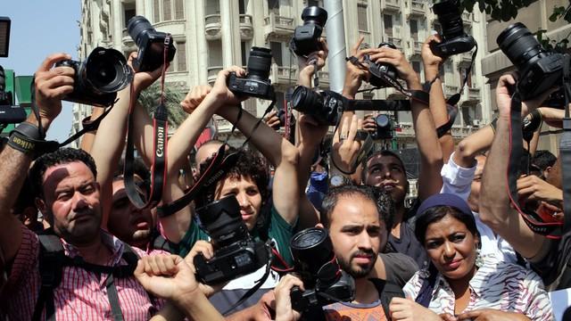 Egipt: policja weszła do lokalu Związku Dziennikarzy i zatrzymała 2 osoby