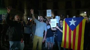 Katalończycy protestują przeciwko aresztowaniom liderów organizacji niepodległościowych