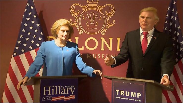 Clinton i Trump w Krakowie. Muzeum figur woskowych zorganizowało głosowanie
