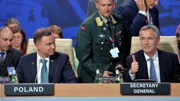 09-07-2016 17:30 Stoltenberg kończy szczyt i dziękuje prezydentowi Dudzie za jego organizację