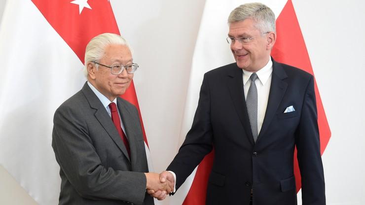 Marszałek Senatu spotkał się z prezydentem Singapuru