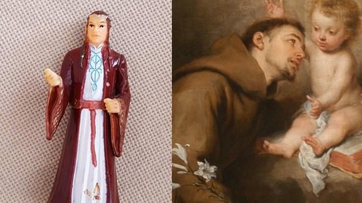 """Modliła się do św. Antoniego. Okazało się, że to elf z """"Władcy Pierścieni"""""""