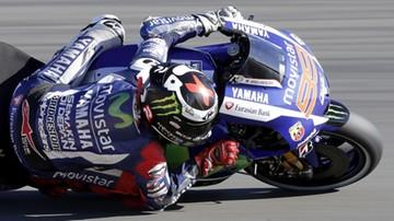 2015-11-07 MotoGP: Pole position dla Lorenzo